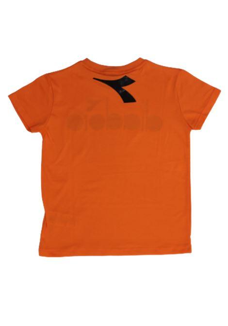 DIADORA | T-shirt | 022278ARANCIO FLUO