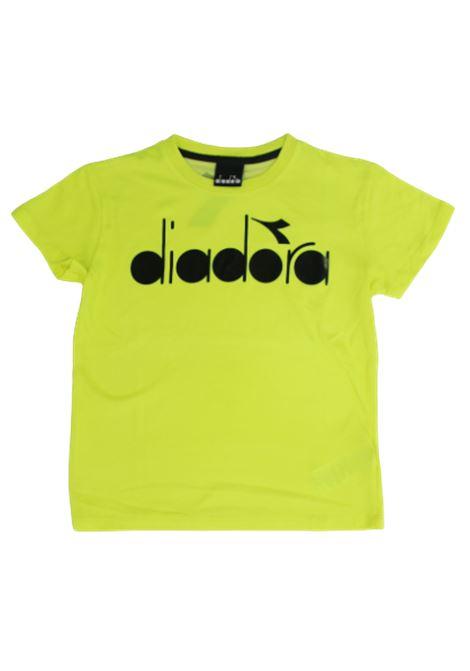 DIADORA | T-shirt | 022278GIALLO FLUO