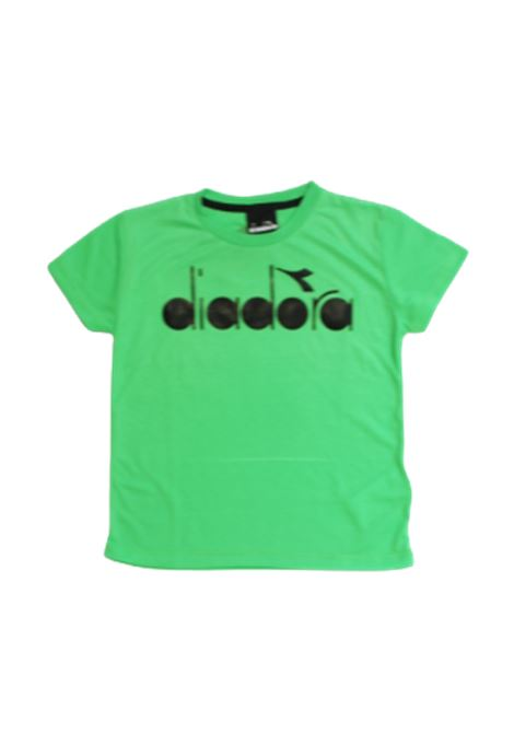 DIADORA | T-shirt | 022278VERDE FLUO