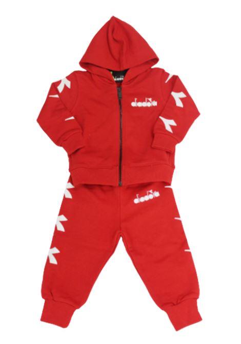 DIADORA | suit | 022359ROSSO