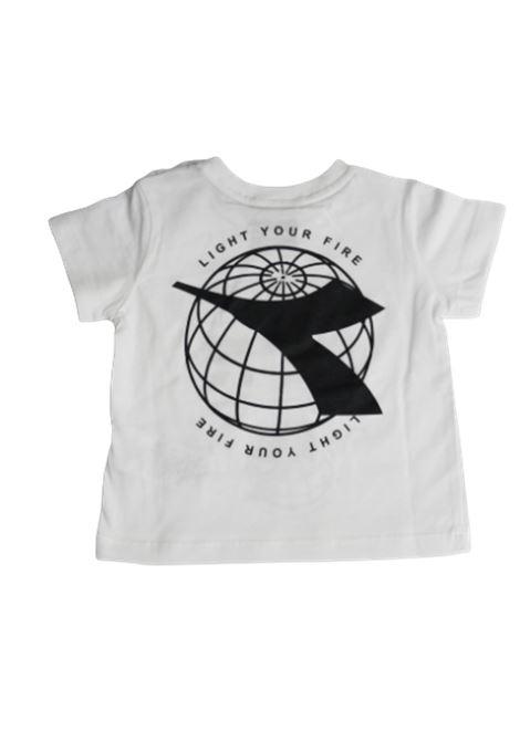 DIADORA | T-shirt | 022361BIANCO