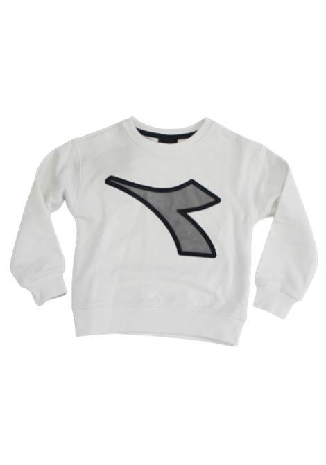 DIADORA | sweatshirt | 022783BIANCO