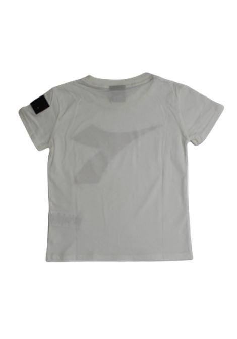 DIADORA | T-shirt | DIA07BIANCO L. ROSSO