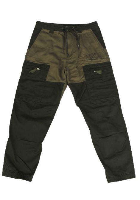 DIESEL | trousers | 00J4Q0VERDE MILITARE