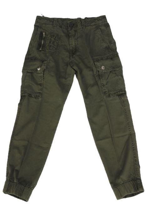 DIESEL | trousers | 00J4Q1VERDE MILITARE