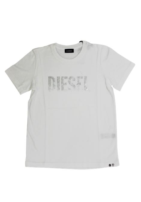 DIESEL | T-shirt | 00J4SUBIANCO