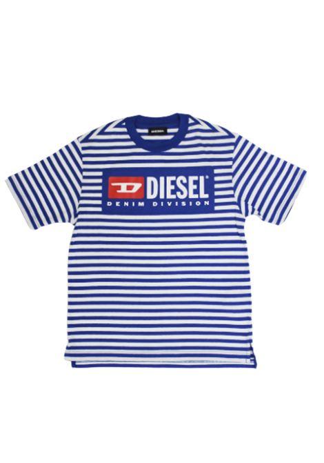 DIESEL | T-shirt | 00K246BIANCO BLUETTE