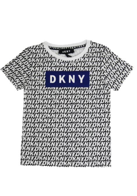 T-shirt DKNY DKNY | T-shirt | D25C82BIANCO FANTASIA