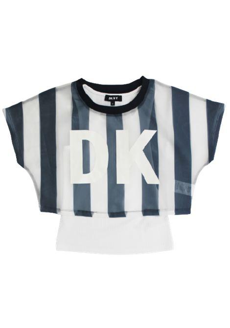 DKNY | shirt | D35Q56BIANCO BLU