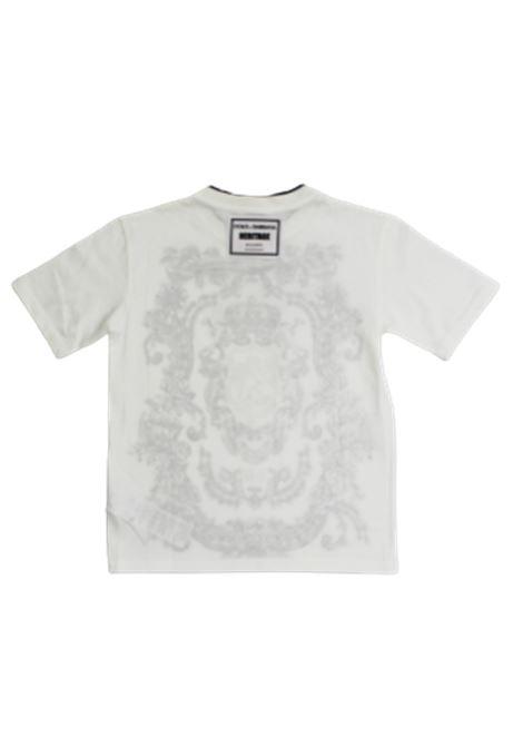 DOLCE & GABBANA | T-shirt | L4JT9AG7VGOHA03EBIANCO FANTASIA