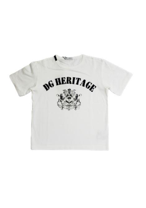 DOLCE & GABBANA | T-shirt | L4JTAUG7VGVW0111BIANCO