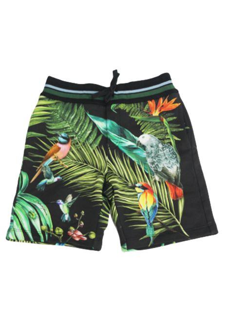DOLCE & GABBANA | Bermuda pants  | L4JQC1G7WGFHN1MHNERO FANTASIA