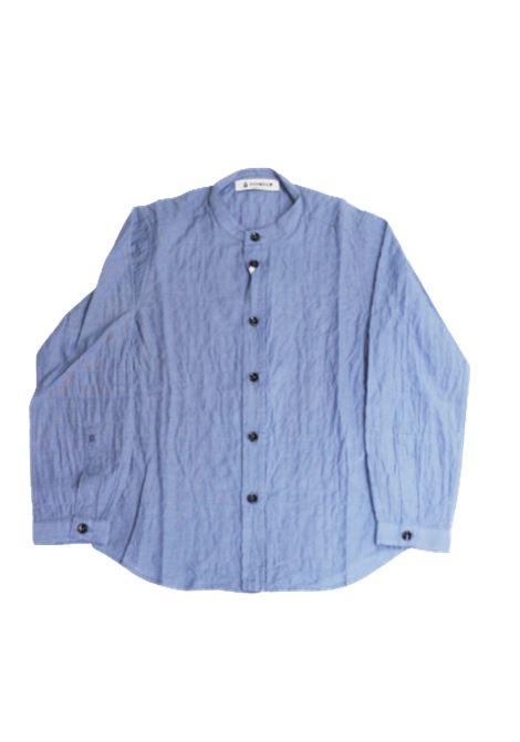 DONDUP   shirt   BC059AZZURRO