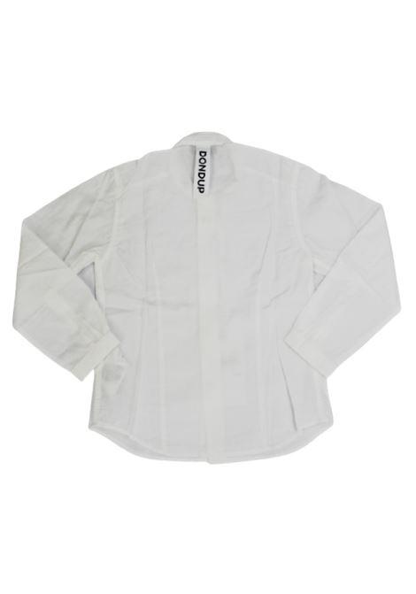 DONDUP   shirt   BC059BIANCO