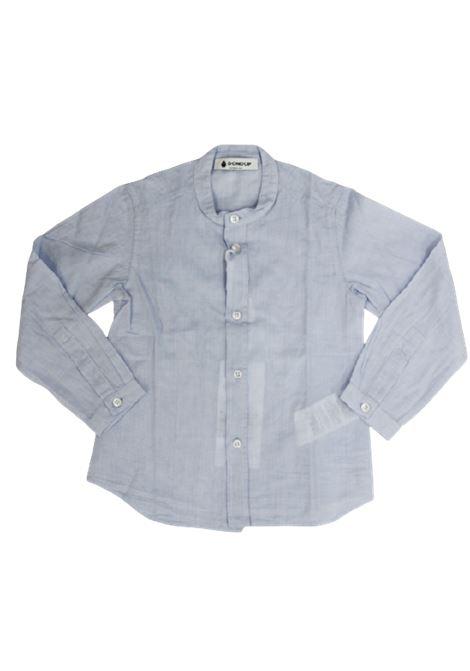 DONDUP   shirt   BC059CF54AZZURRO