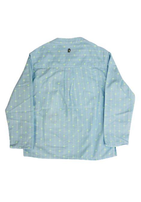 DONDUP   shirt   BC075CELESTE