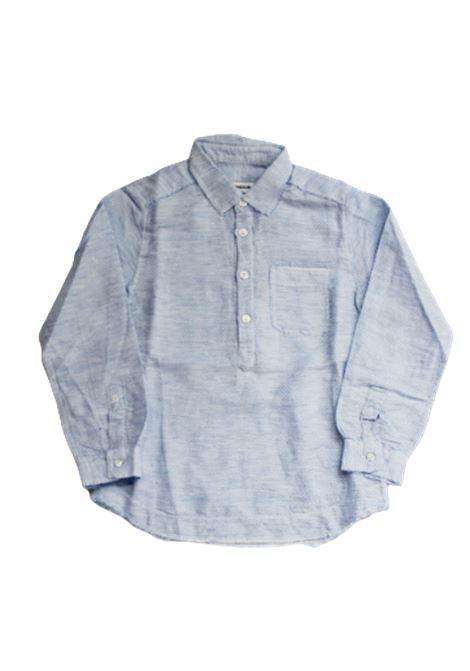 DONDUP   shirt   BC080AZZURRO