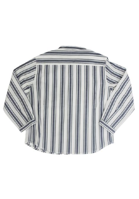 DONDUP   shirt   CR169RIGA B.CO BLU