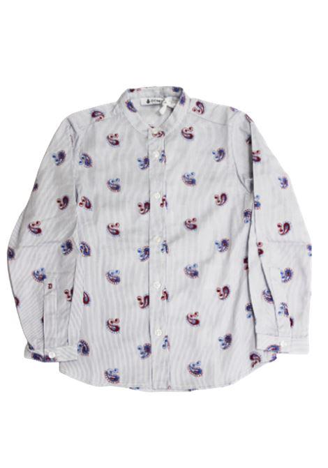 DONDUP   shirt   DMCA20BIANCO FANTASIA