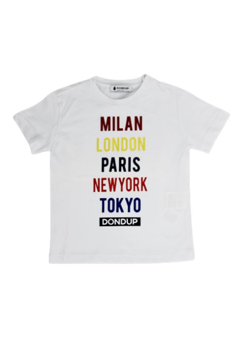 T-shirt Dondup DONDUP | T-shirt | DON115BIAN CO