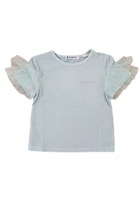 DONDUP   T-shirt   DON274VERDE ACQUA