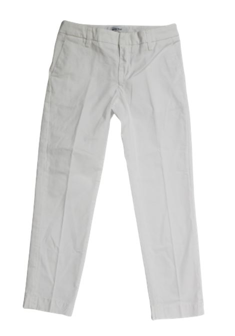 DONDUP | trousers | DON286BIANCO