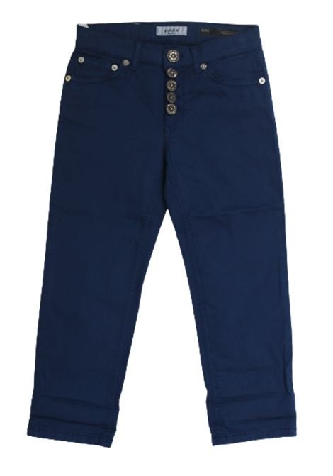 DONDUP | trousers | DON288COBALTO