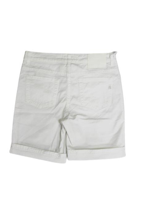 DONDUP   Bermuda pants    GSE046BBIANCO