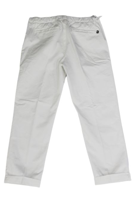 Pantalone Dondup DONDUP   Pantalone   GSE046BPTDWBIANCO