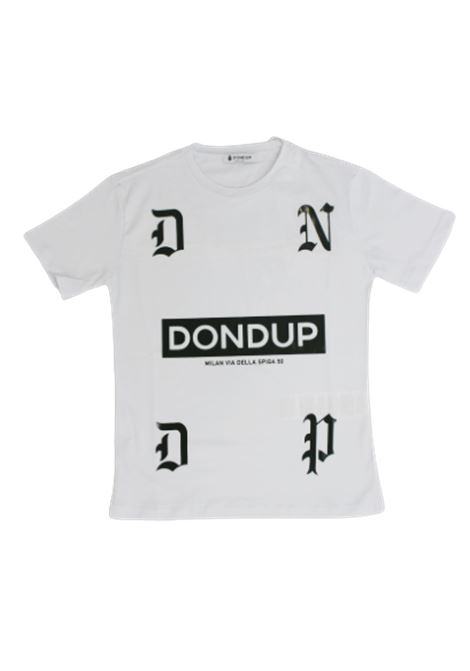 T-shirt Dondup DONDUP   T-shirt   JY0003BBIANCO