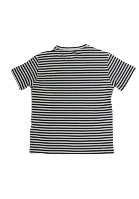 DONDUP   T-shirt   JY0008BBIANCO NERO
