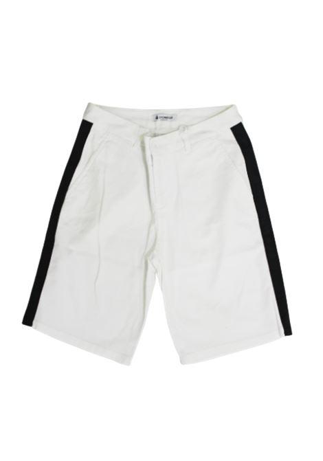 DONDUP   Bermuda pants    TY0046BBIANCO