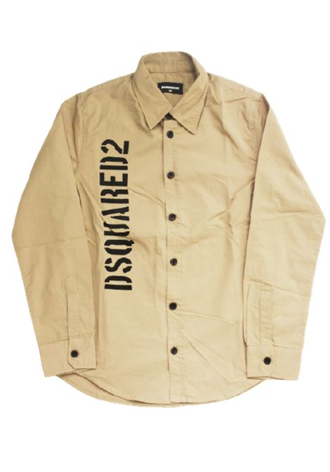 DSQUARED2 | shirt | DQ03W0BEIGE