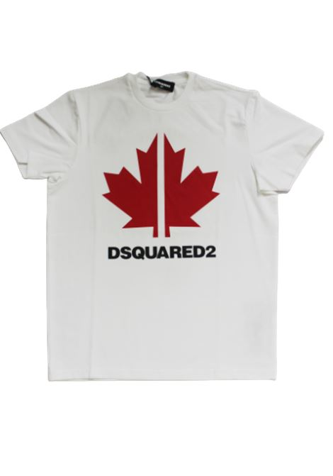 T-shirt Dsquared2 DSQUARED2 | T-shirt | DSQ227BIANCO ROSSO