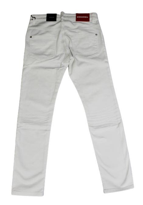 DSQUARED2 | trousers | DSQ244BIANCO