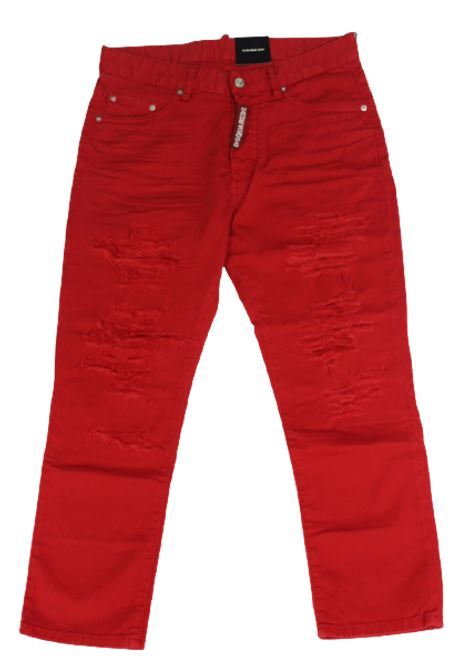 DSQUARED2 | trousers | DSQ245ROSSO