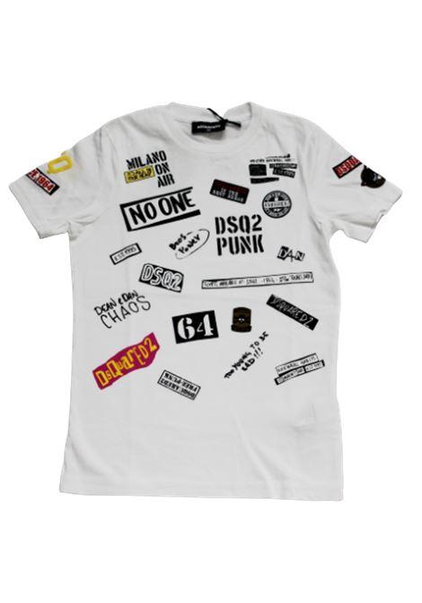 DSQUARED2 | T-shirt | DSQ265BIANCO