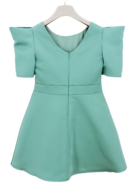 ELISABETTA FRANCHI | Dress | EFAB243VERDE ACQUA