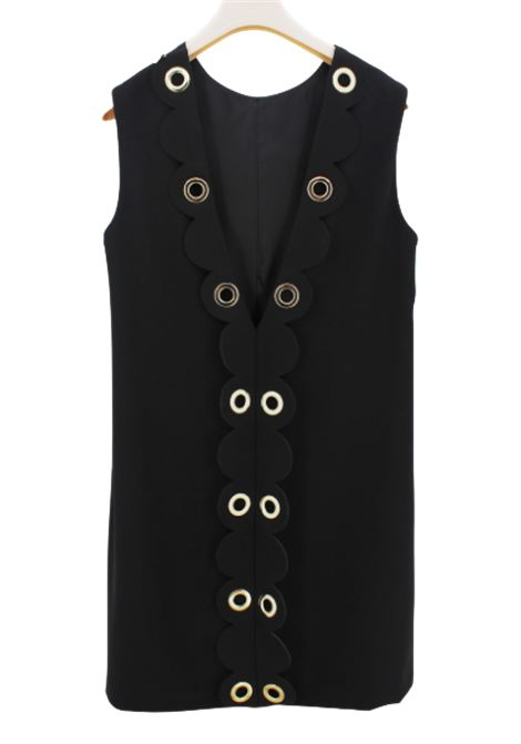 ELISABETTA FRANCHI | Dress | EFAB255NERO