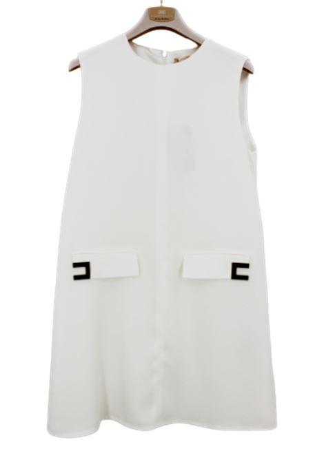 ELISABETTA FRANCHI | Dress | EFAB261BIANCO