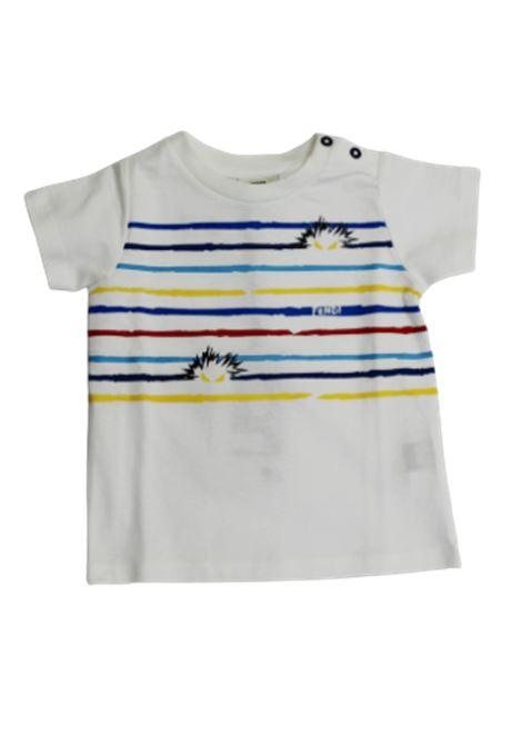 T-shirt Fendi FENDI | T-shirt | BMI02379CF0VU8BIANCO