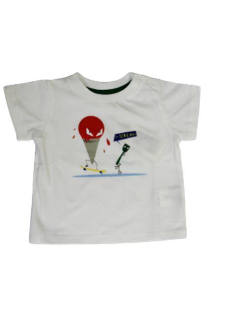 T-shirt Fendi FENDI | T-shirt | BMI1227AJF0VU8BIANCO