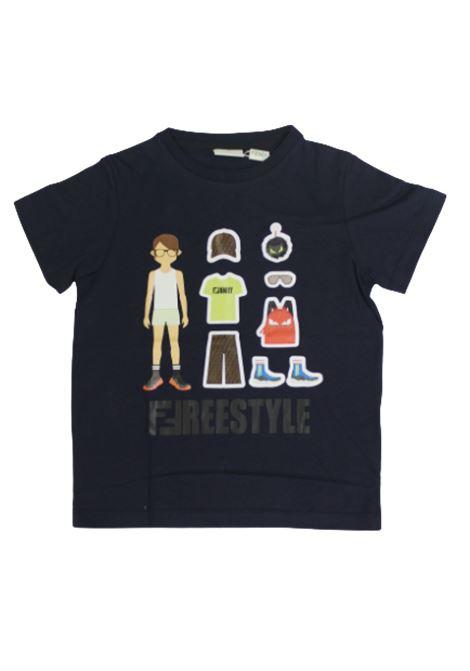 T-shirt Fendi FENDI | T-shirt | JMI3177AJF0QB0BLU