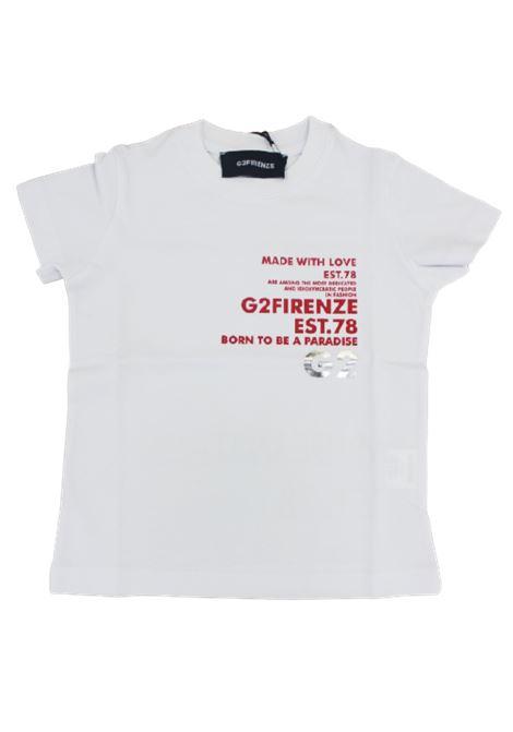 T-shirt G2 Firenze G2 FIRENZE | T-shirt | ST4PARADISEBIANCO