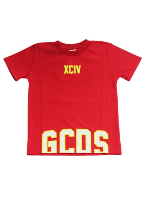 GCDS | T-shirt | 022551ROSSO