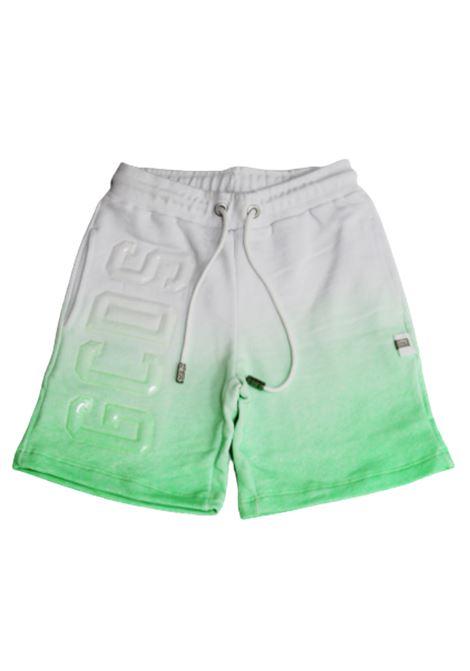 GCDS | Bermuda pants  | 022567BIANCO VERDE