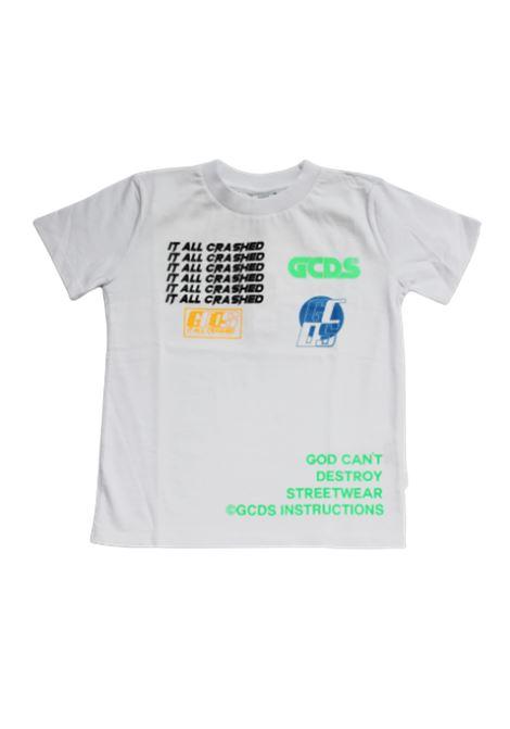 GCDS | T-shirt | 022586BIANCO