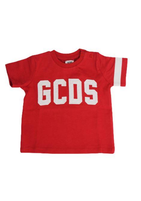 GCDS | T-shirt | 023935ROSSO