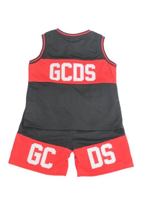 GCDS | suit | 023940NERO