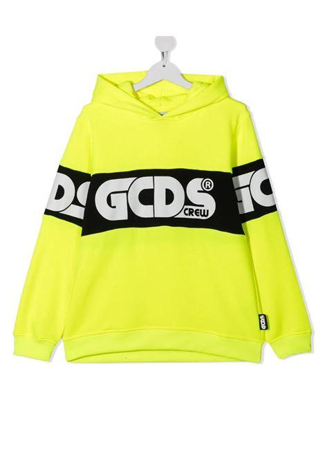 GCDS | sweatshirt | 027604FLGIALLO FLUO